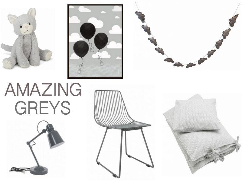 Gustavs Ønskeseddel indeholder masser af fantastiske grå farver