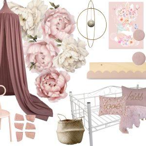 Isabellas drømmeværelse i pink nuancer