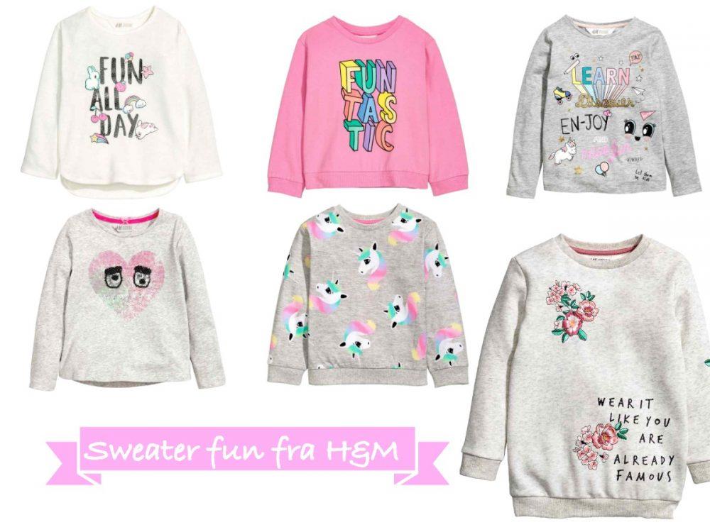 billige sweaters fra H&M