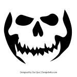 halloween græskar (med print selv-mønstre)